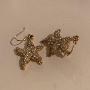 Coach Starfish Gold Earrings